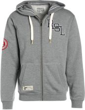 Russell Athletic THROUGH Bluza rozpinana collegiate grey marl - zdjęcie 1