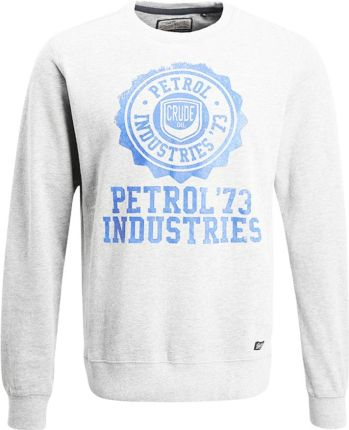 Petrol Industries Bluza light grey melee