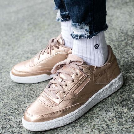"Buty Reebok Club C 85 ""Melted Metal"" (BS7899)"