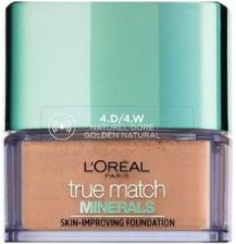 L'Oreal True Match Minerals Powder D4/W4 Golden Natural puder mineralny 10g