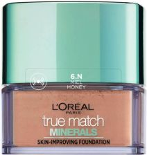 L'Oreal True Match Minerals Powder N6 Honey puder mineralny 10g