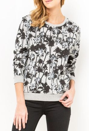 Bluza Lee Graphic Sws L53Y Grey Mele M