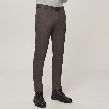 Reserved - Eleganckie spodnie - Szary