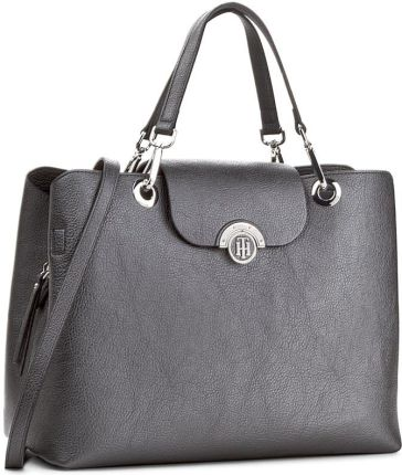 Torebka TOMMY HILFIGER - Effortless Novelty Satchel AW0AW04593 904