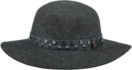 ELAINE HAT JR 53 DARK HEATHER