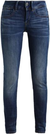 GStar LYNN MID SUPER SKINNY Jeansy Slim fit elto superstretch