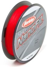 Plecionka Berkley NanoFil 0,10 125m Red 0,11056mm 5,732kg