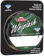 Plecionka Berkley Whiplash Green 0,08mm 12,3kg 300m