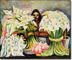 Vendedora de Alcatraces - Diego Rivera