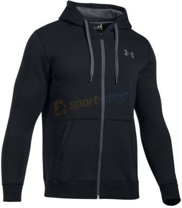 Bluza męska Rival Fitted Full Zip Under Armour (czarna)
