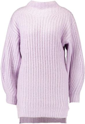 Miss Selfridge CHUNKY FUNNEL NECK BALLOON SLEEVE Sweter lilac