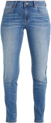 Kaffe STINE  Jeansy Slim fit light blue denim