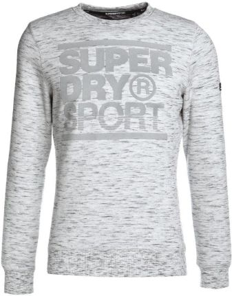 Superdry GYM TECH CREW Bluza ice space dye/concrete marl