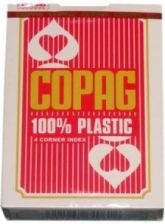 Cartamundi Karty Copag Jumbo 4P Red