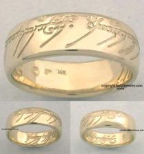 Badali Jewelry 14k. Gold The One Ring (ORG-14)