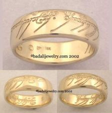Badali Jewelry 18k. Yellow Gold The One Ring (ORG-18)