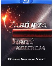 Zabójcza broń: Pakiet (Lethal Weapon 1-4 Collection) (4Blu-ray)