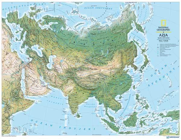 Azja Zachodnia Przewodnik Mapa Roslinnosc Kompas Travel
