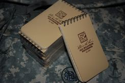 Rite In The Rain 935T Tan Tactical Pocket Notebook 3 X 5