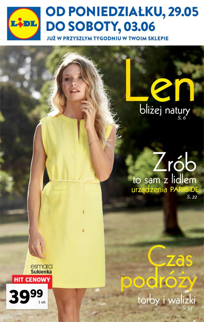 Gazetka Lidl Polska Sp. z o.o. nr 0 od 2017-05-29 do 2017-06-03
