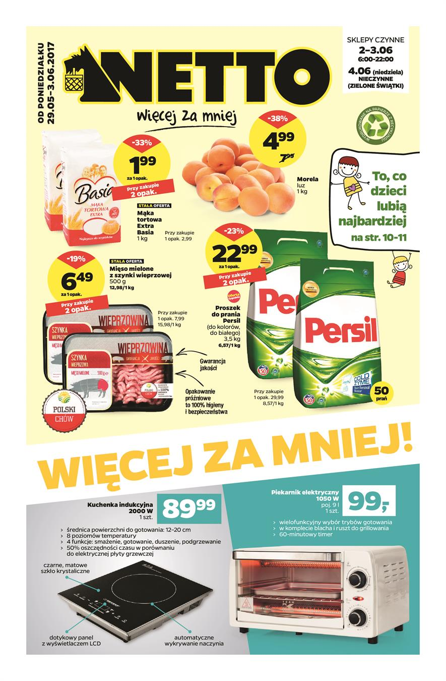 Gazetka Netto Sp. z o.o. nr 0 od 2017-05-29 do 2017-06-04