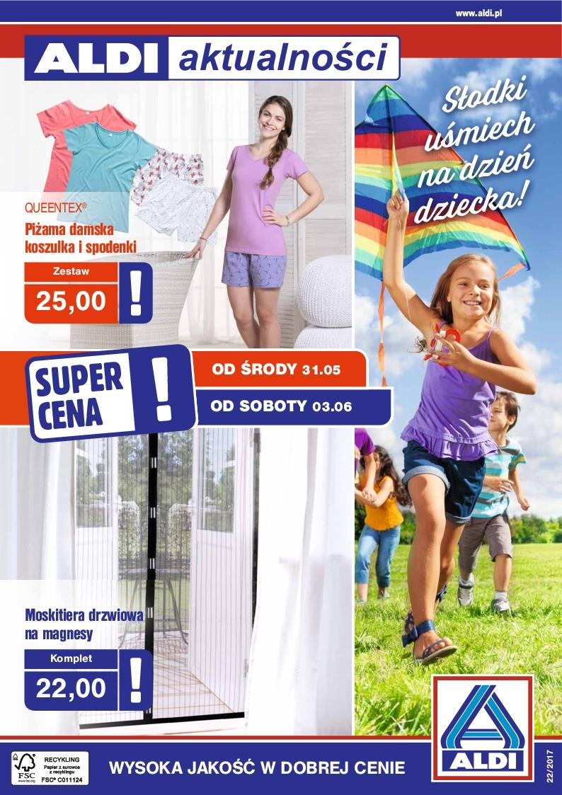 Gazetka ALDI SP Z O O  nr 0 od 2017-05-31 do 2017-06-03