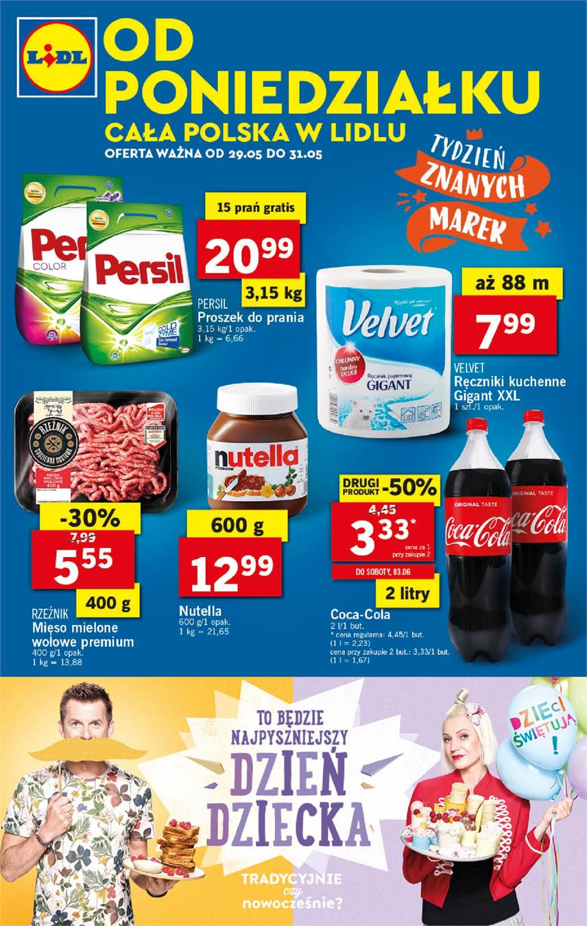 Gazetka Lidl Polska Sp. z o.o. nr 0 od 2017-05-29 do 2017-05-31