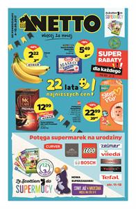 Gazetka nr Netto Sp. z o.o. od  2017-09-04 do 2017-09-10