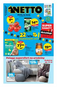 Gazetka nr Netto Sp. z o.o. od  2017-09-11 do 2017-09-17