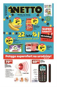 Gazetka nr Netto Sp. z o.o. od  2017-09-18 do 2017-09-24