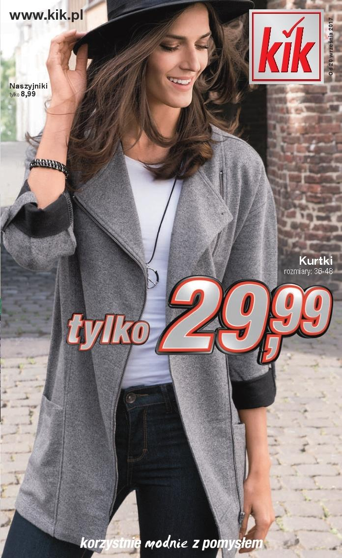 Gazetka Kik Textil Sp z o. o. nr 0 od 2017-09-20 do 2017-10-22