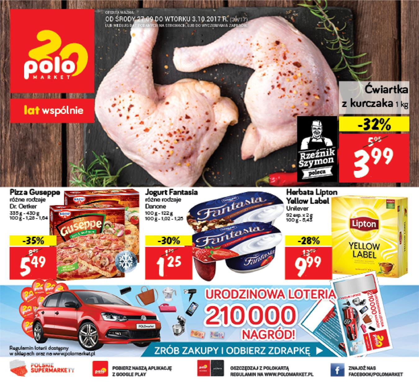 Gazetka Polomarket Sp. z o.o. nr 0 od 2017-09-27 do 2017-10-03