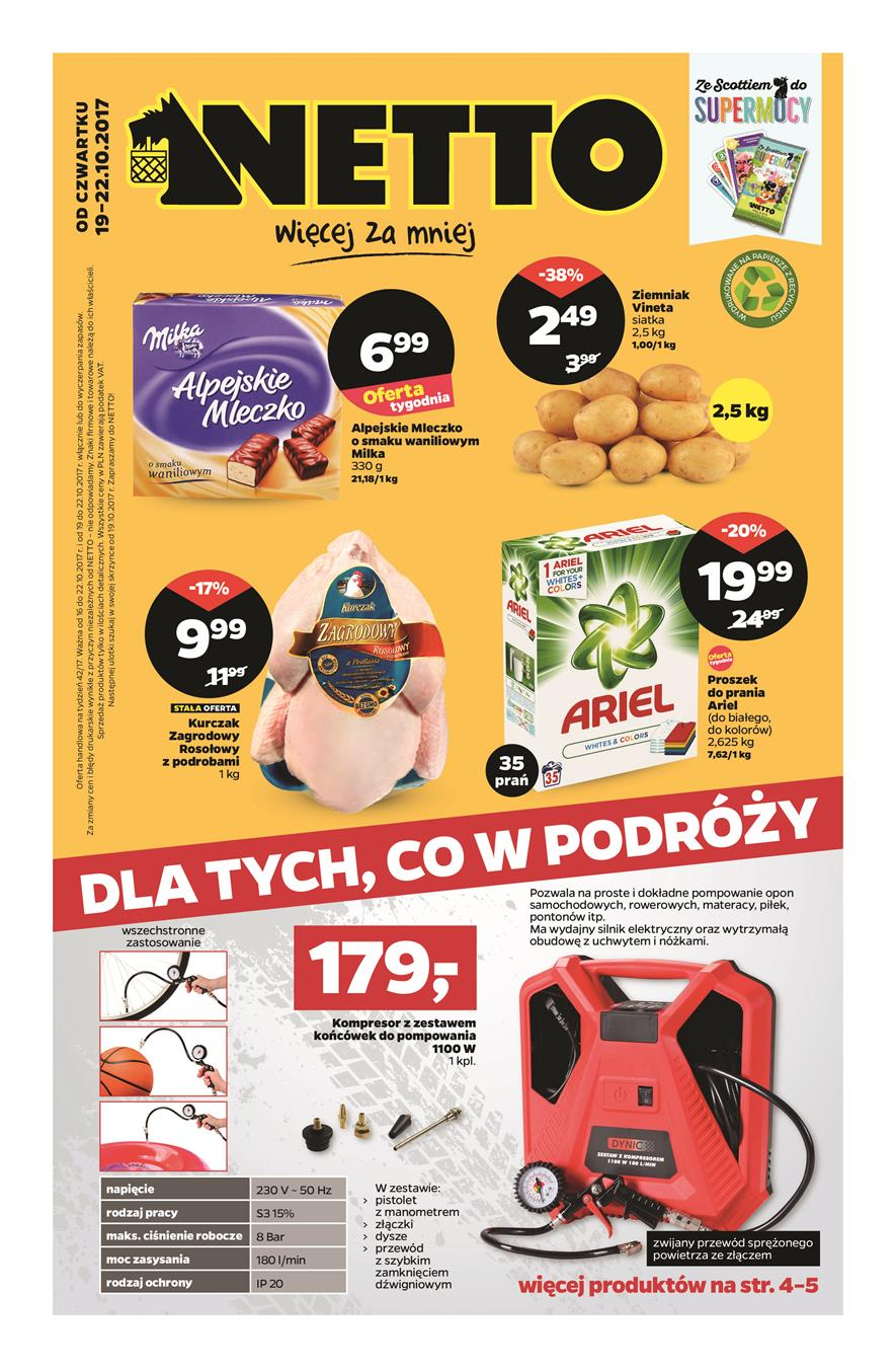 Gazetka Netto Sp. z o.o. nr 0 od 2017-10-19 do 2017-10-22