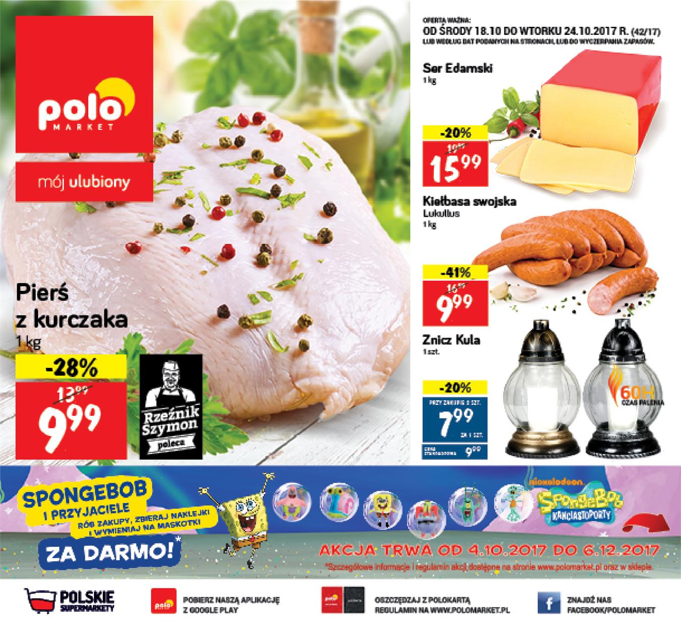 Gazetka Polomarket Sp. z o.o. nr 0 od 2017-10-18 do 2017-10-24