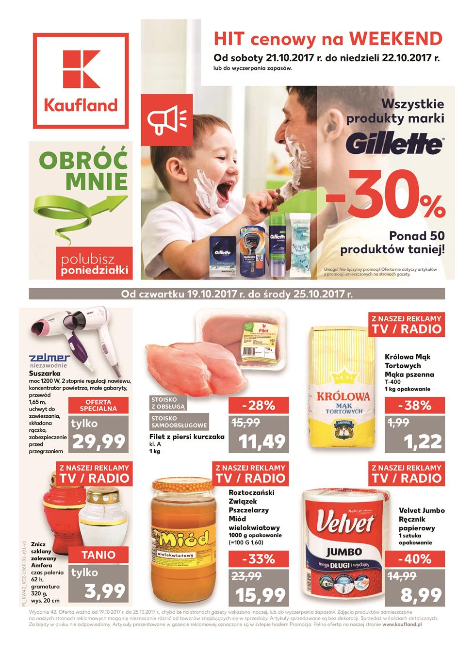 Gazetka Kaufland Polska Markety Sp. z o.o nr 0 od 2017-10-19 do 2017-10-25