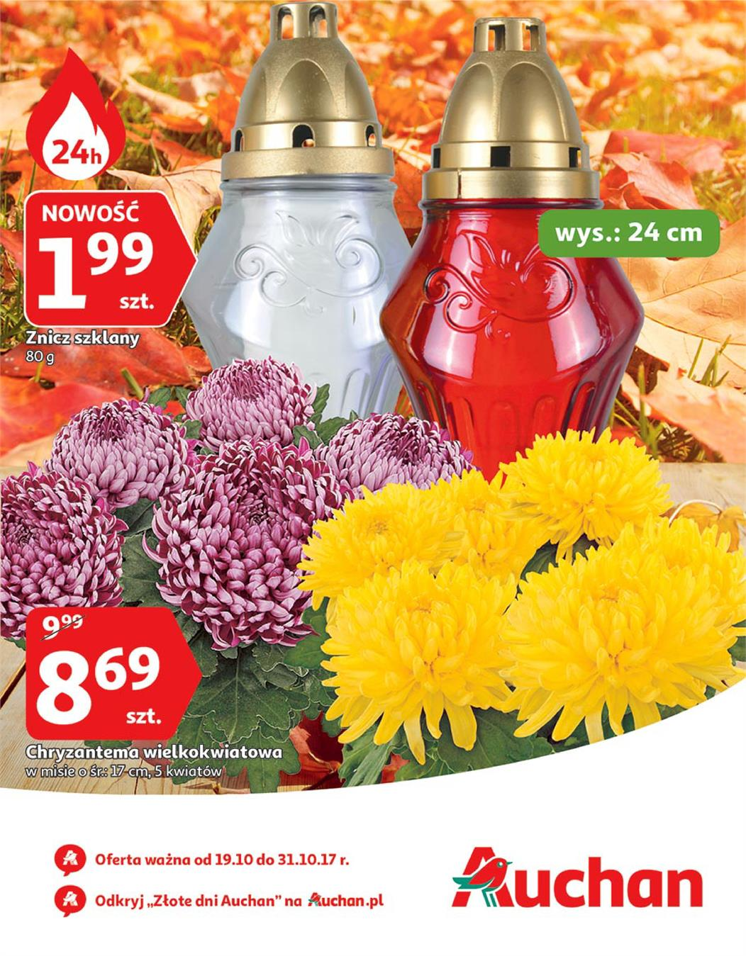 Gazetka Auchan Polska Sp. z o.o. nr 0 od 2017-10-19 do 2017-10-31