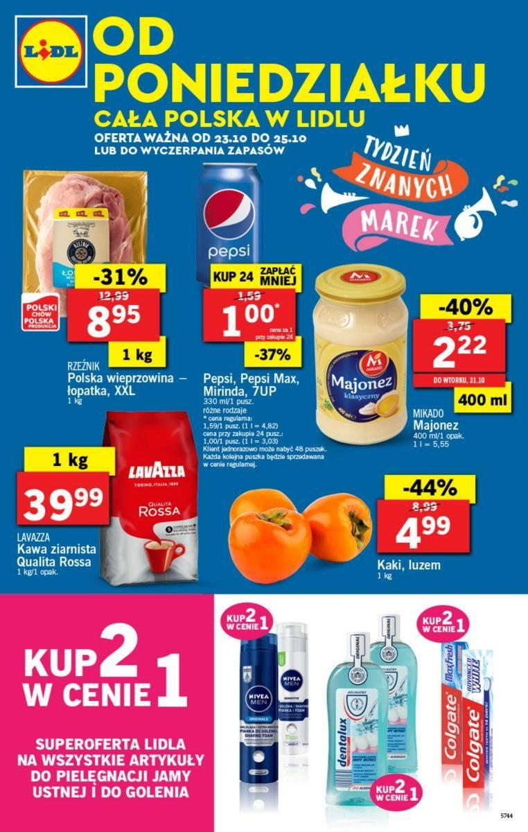 Gazetka Lidl Polska Sp. z o.o. nr 0 od 2017-10-23 do 2017-10-26