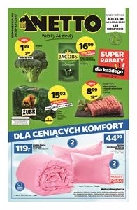 Gazetka nr Netto Sp. z o.o. od  2017-10-30 do 2017-11-05