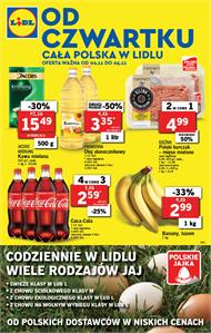 Gazetka nr Lidl Polska Sp. z o.o. od  2017-11-02 do 2017-11-05