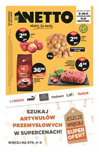 Gazetka nr Netto Sp. z o.o. od  2017-11-09 do 2017-11-12