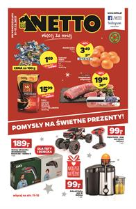 Gazetka nr Netto Sp. z o.o. od  2017-12-11 do 2017-12-17