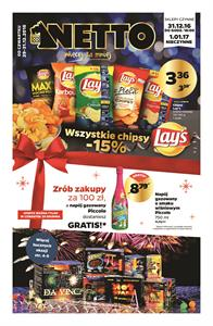 Gazetka nr Netto Sp. z o.o. od  2016-12-29 do 2016-12-31