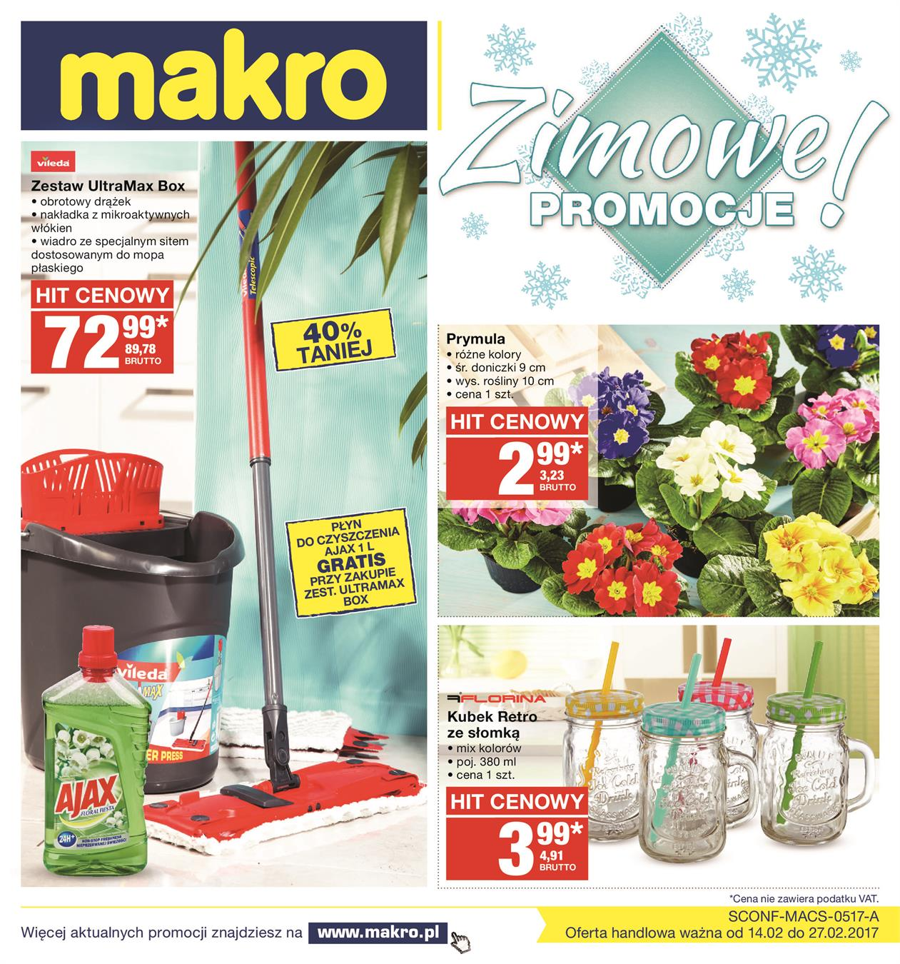 Gazetka MAKRO CASH AND CARRY POLSKA S A nr 0 od 2017-02-14 do 2017-02-27