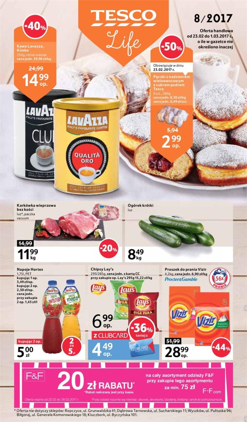 Gazetka Tesco Polska Sp. z o.o. nr 0 od 2017-02-23 do 2017-03-01