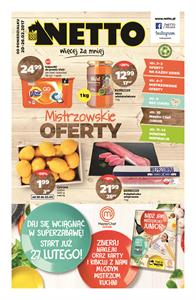 Gazetka nr Netto Sp. z o.o. od  2017-02-20 do 2017-02-26