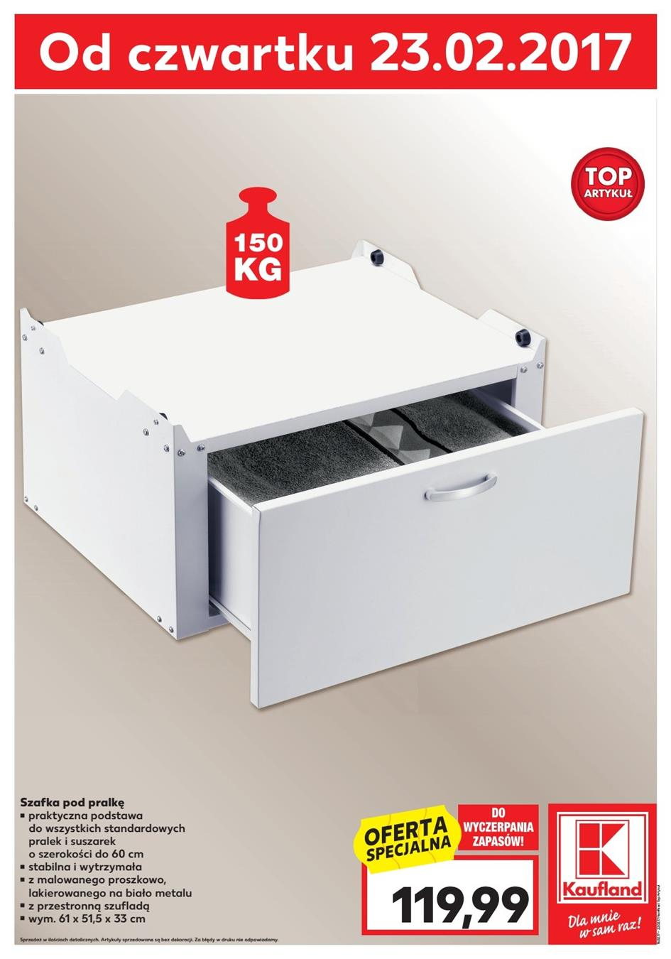 Gazetka Kaufland Polska Markety Sp. z o.o nr 0 od 2017-02-23 do 2017-03-01