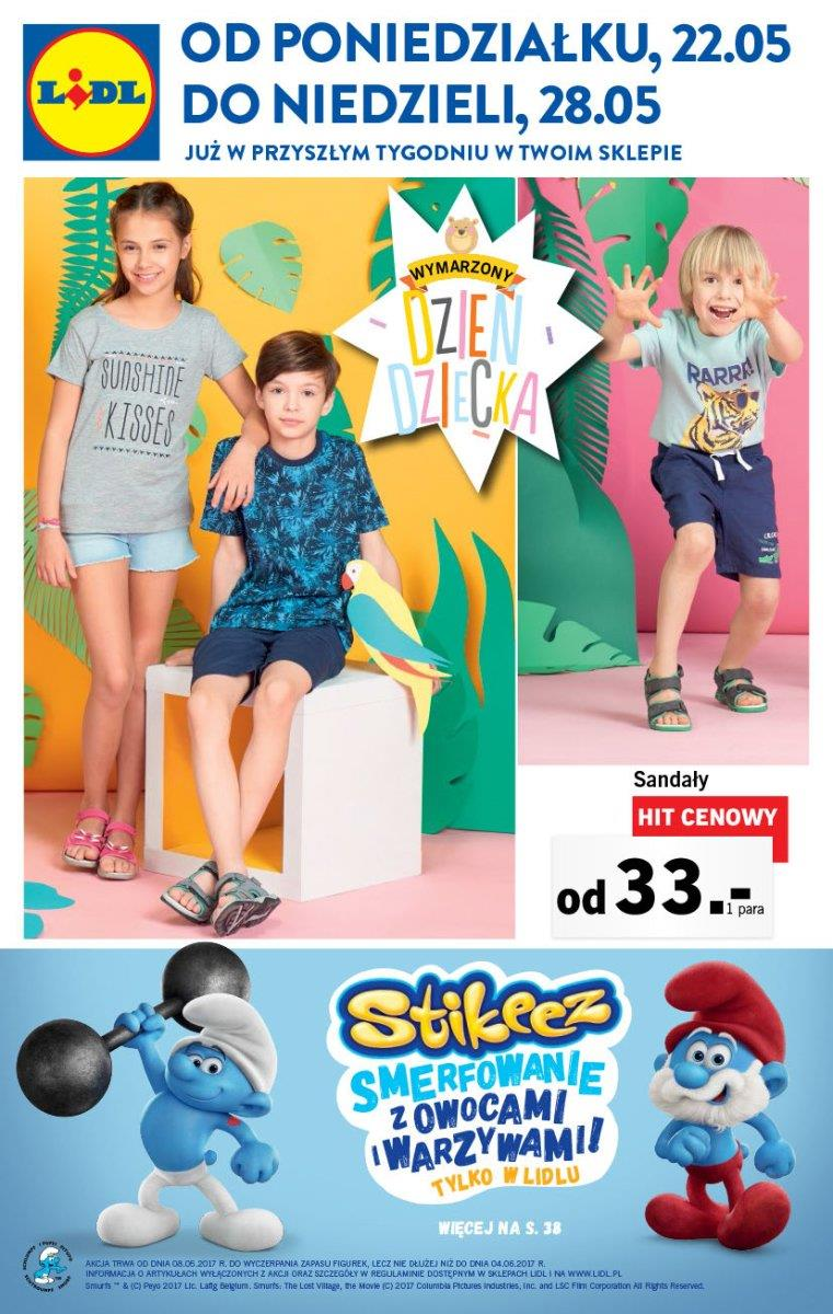 Gazetka Lidl Polska Sp. z o.o. nr 0 od 2017-05-22 do 2017-05-28