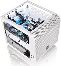 Thermaltake Core V1 Snow Edition Mini-Tower Biały Okno (CA1B800S6WN01)