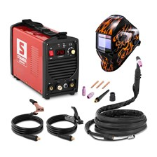 Stamos 250 A 230 V przenośna Plus maska Firestarter 500 Advanced S-WIGMA 250 2010+2984