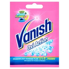 Vanish Oxi Action Odplamiacz Do Tkanin Saszetka 30G
